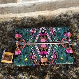 Mara Hoffman-Sephora Collection Fold Over Clutch